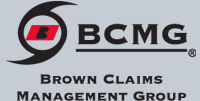 brown claims management logo bcmg
